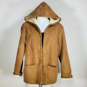 Suede Jones New York Coat